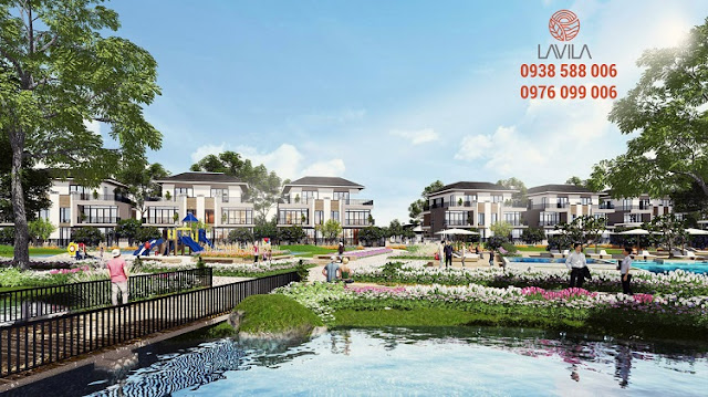 Lavila project of Kien A in Nha Be, HCMC, perspective photo.
