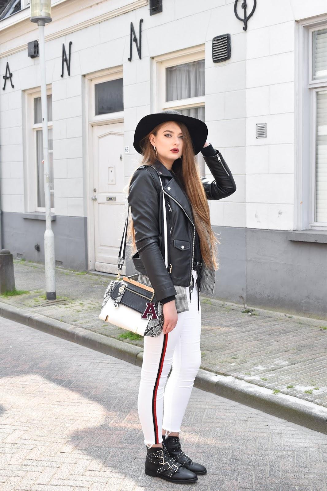 białe spodnie stylizacje 2019