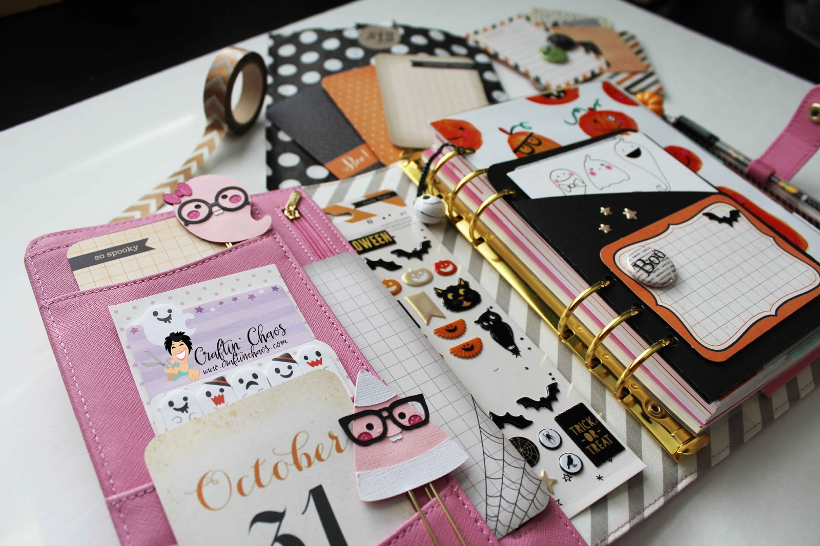 Mrs Brimbles Easy Diy Planner Pockets And Planner Decor Ideas