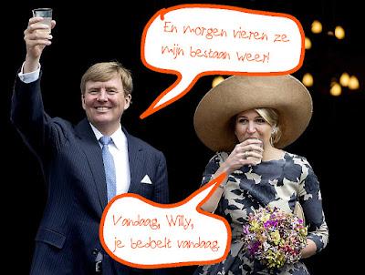 Willem Willy Alexander en Maxima