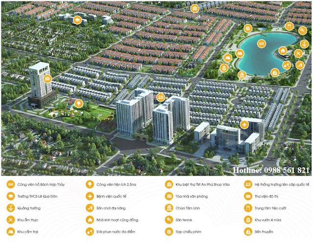 Tiện ích khu đô thị Anland Complex Dương Nội