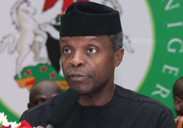'Greed, self-interest behind executive/legislature conflict', Yemi Osinbajo reveals