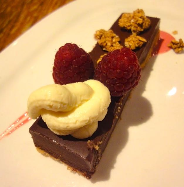 Chocolate and Raspberry Delice