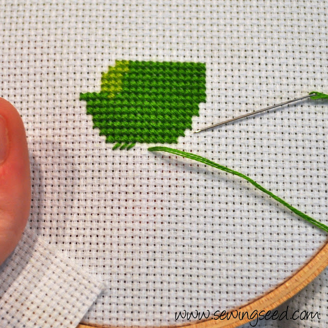 Sewingseed How Do You Cross Stitch Anyway The Complete Tutorial