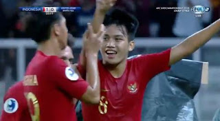 HT: Indonesia vs Uni Emirat Arab 1-0 Piala AFC U-19 2018