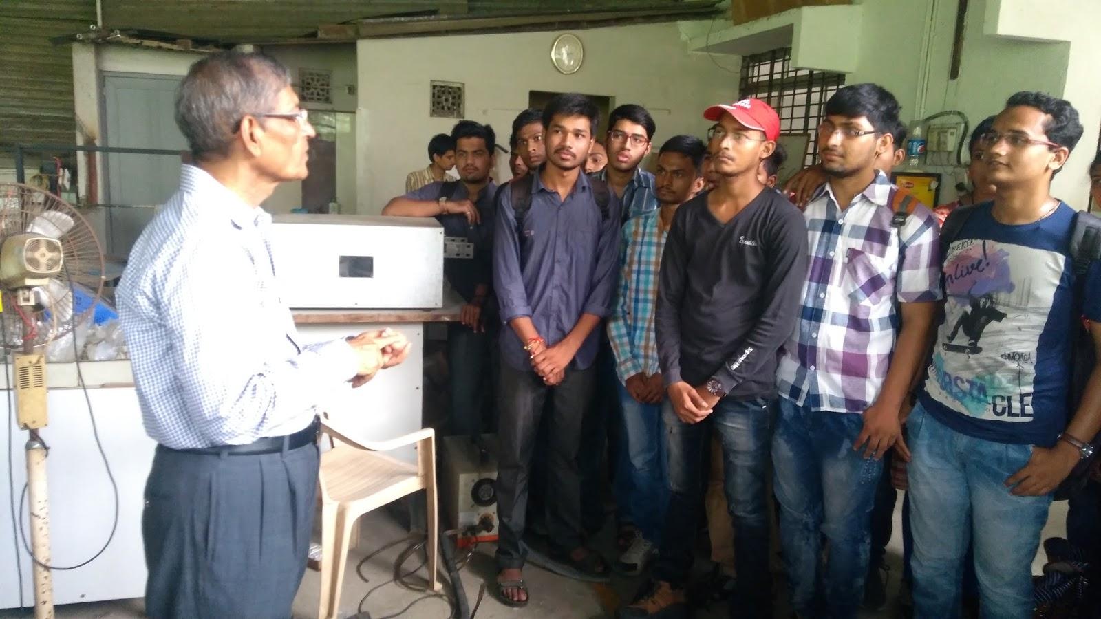 Electrical Department Notice Board Snapshots Of Industrial Visit At Analog Timers Gururaj Products Engineersvadodara For 5th Sem