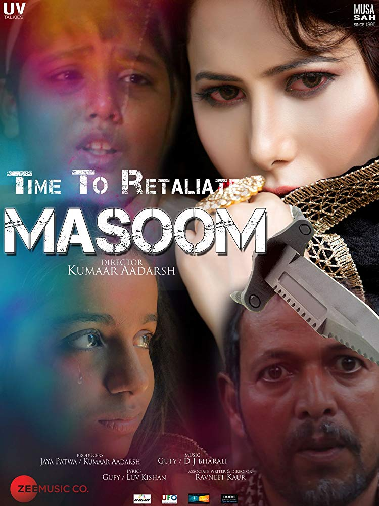 Time To Retaliate: Masoom 2019 Hindi 720p WEB-DL 1.3GB ESubs