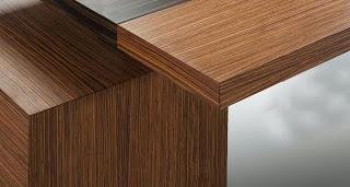 contoh lapisan HPL pada furniture