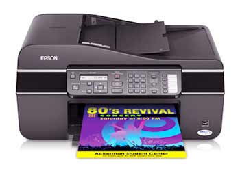 epson nx305 change ink