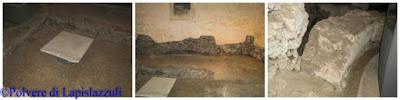 sopravvissute tracce archeologiche della basilica paleocristiana orientale
