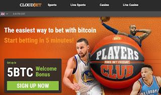 CloudBet, ganar Bitcoins apostando
