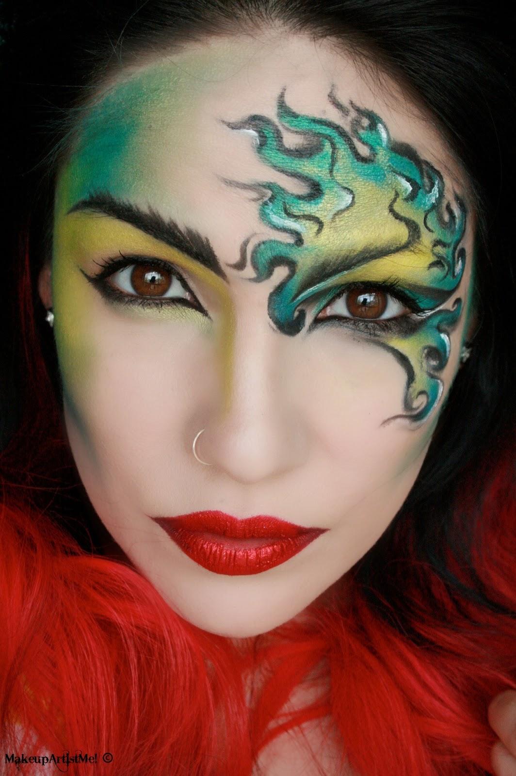 Makeup Artist Corina Ciobanu: Make-up Artist Me!: Viper
