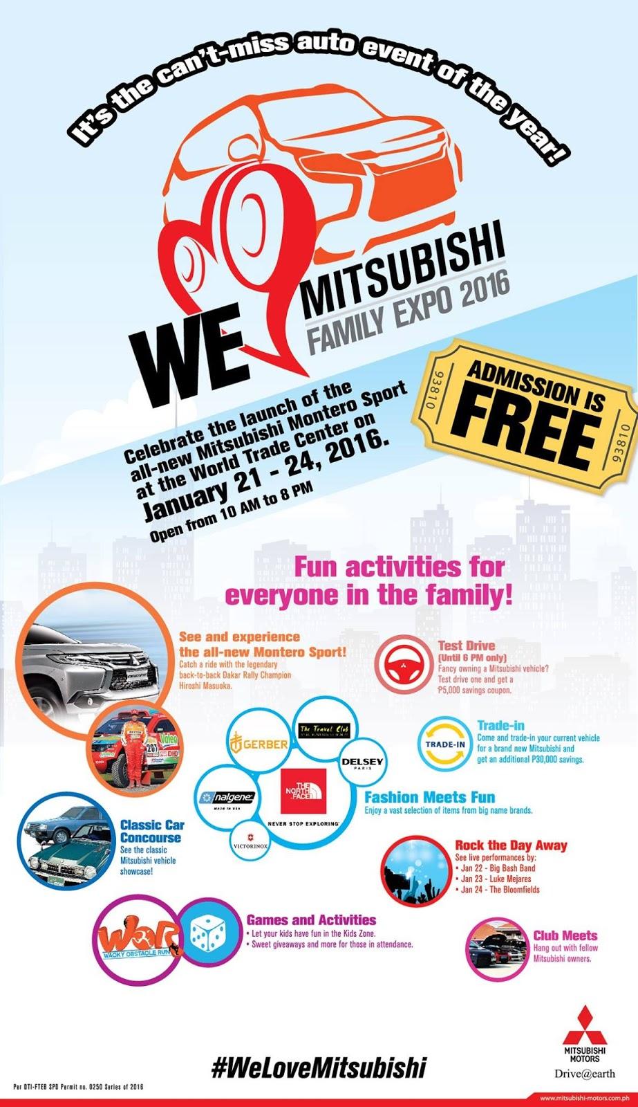 We Love Mitsubishi Family Expo