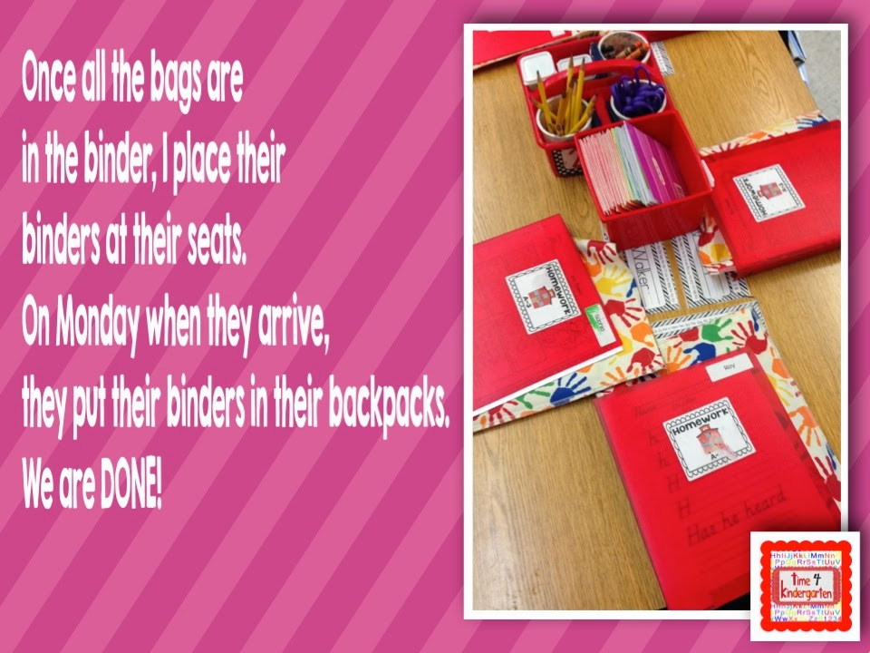Bright Ideas Blog Hop- Homework and book bags