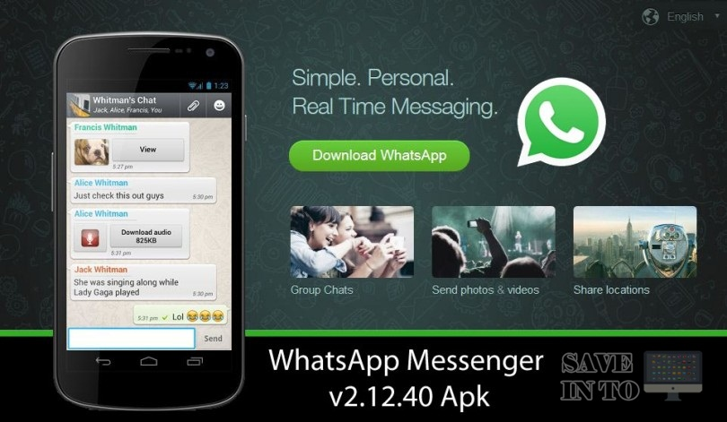 Whatsapp messenger download app 2018