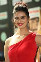 Meenakshi Dixit in Red One Shoulder Red Zipped up gown at IIFA Utsavam Award 47.JPG