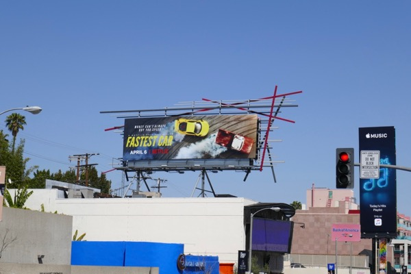 Fastest Car season 1 billboard