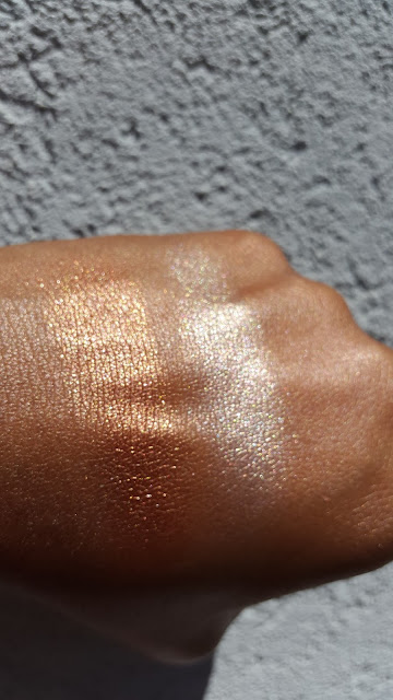 the Balm Cosmetics Overshadow The Sexpots swatches - www.modenmakeup.com