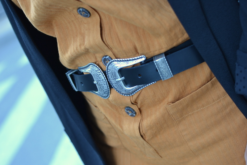 ceinture double boucle Zara