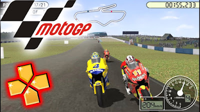 MOTO GP PPSSPP ISO for Android Mobile Download