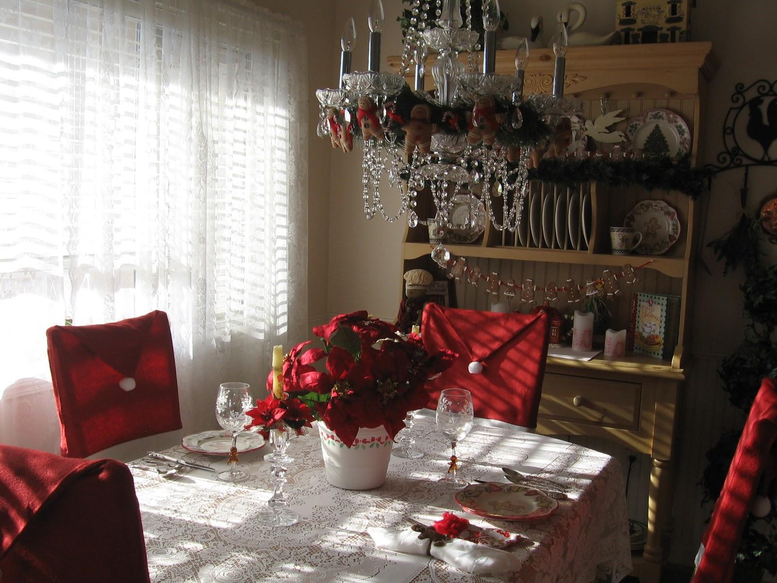 Christmas Chair Covers Pinterest Dining Room Styles English Purple Ribbon Darling Santa Hat