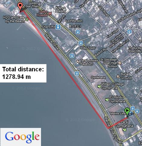 Distance between two places | Find with Google Tool | Jesoba com: A
