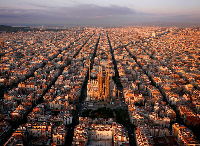 Dron fotografia barcelona