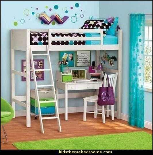 Decorating theme bedrooms maries manor space saving for Beds for 13 year olds