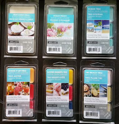 Ashland Scented Wax Melts from Michael's – Summer 2017
