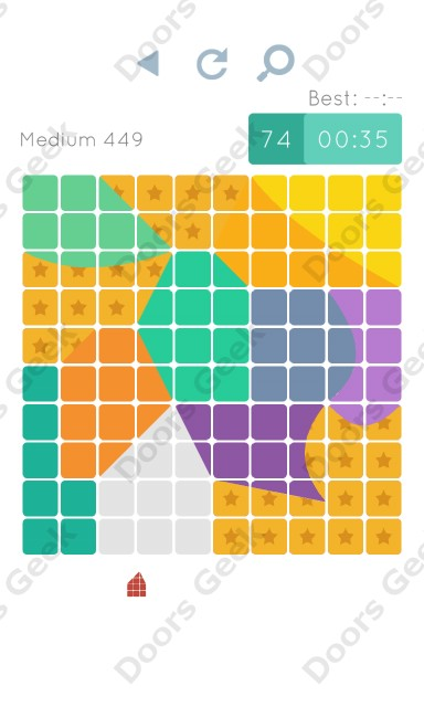 Cheats, Walkthrough for Blocks and Shapes Medium Level 449