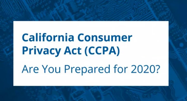 ماهو الاجراء اللازم لرسالة ادسنس حول قانون خصوصية المستهلك في كاليفورنيا CCPA