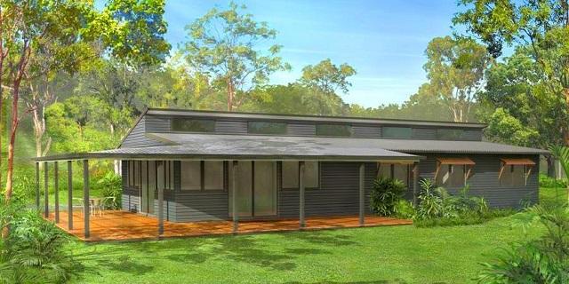 Plano De Casa De Campo Con Tres Dormitorios Planos De