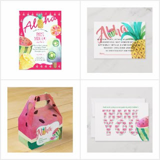 Tropical wedding bridal shower hawaiian party supplies
