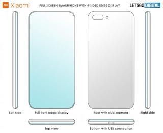 Xiaomi'nin Dört Tarafı Kavisli Akıllı Telefonu