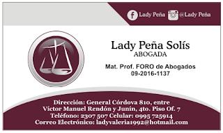 Diseños de tarjetas personales para abogado