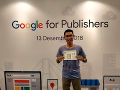 Sharing Bareng Google For Publisher Indonesia