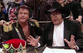 WWF / WWE - In Your House 13: Final Four - Jim Ross & Jerry Lawler commentated on the event