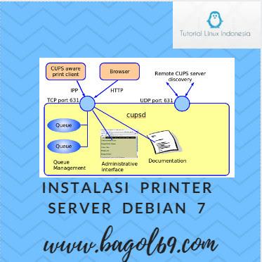 Cara Konfigurasi Printer Server di Debian