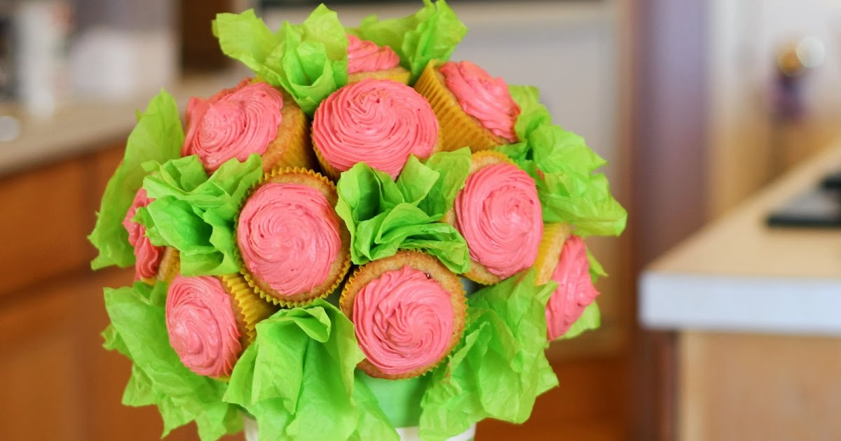 how to make cupcake bouquet tutorial
