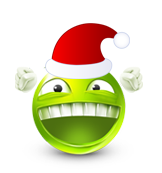 Christmas Smiley Icon 16