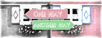2 signs, one saying ONE WAY, the other saying ANOTHER WAY