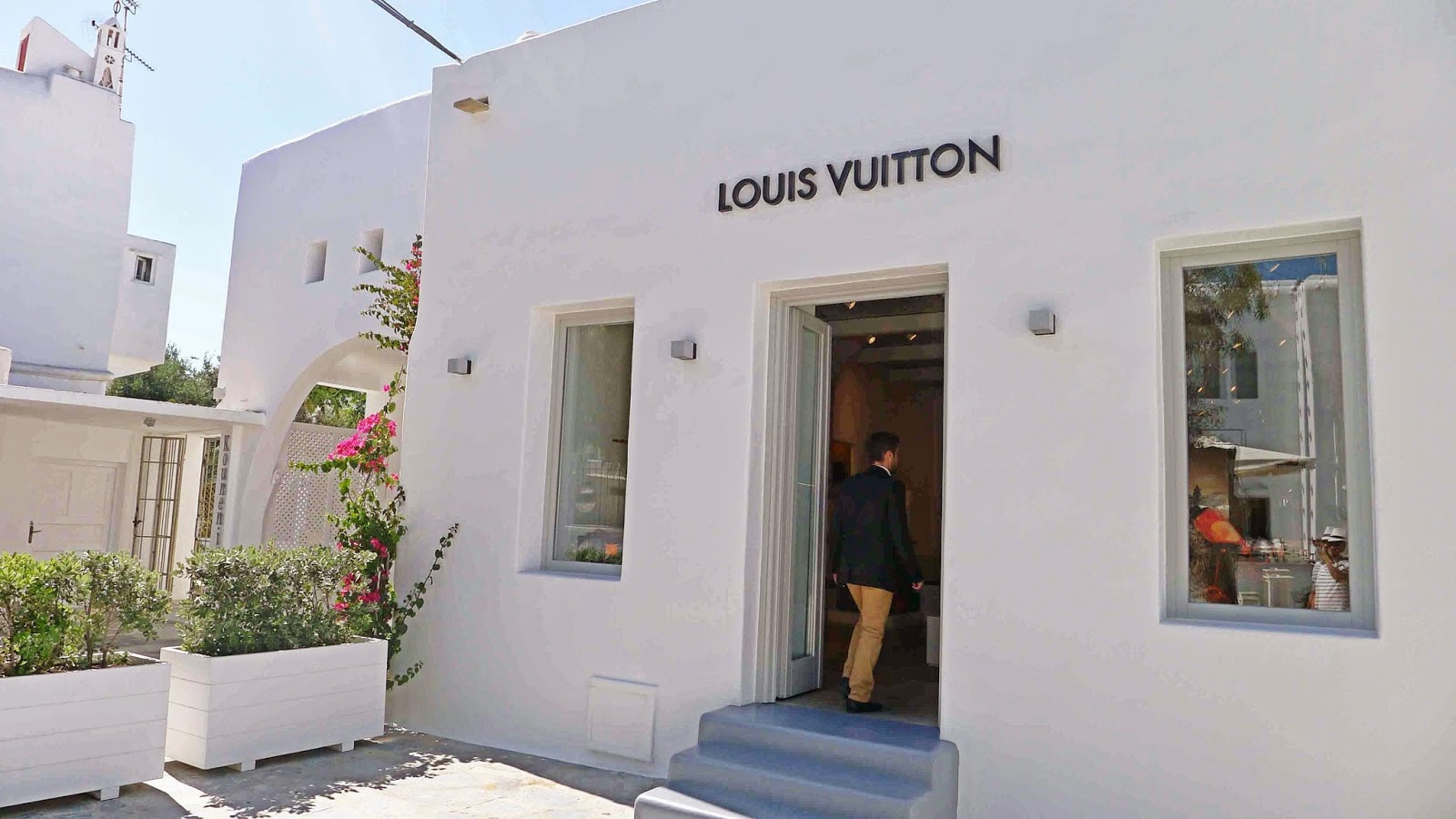 Mykonos Louis Vuitton