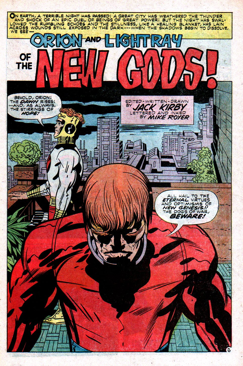 The New Gods (1971) issue 9 - Page 7
