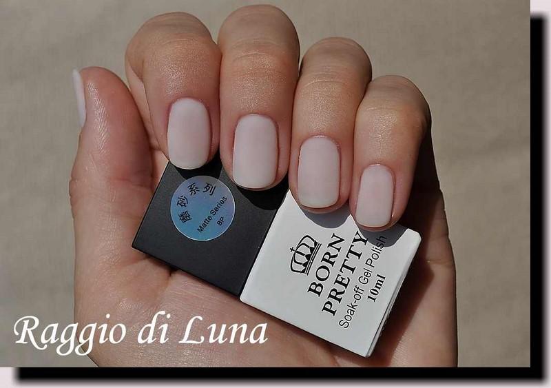 Raggio di Luna Nails: BP UV gel polish Matte Series n° 3931