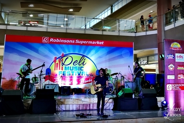 Ebe Dancel Robinsons Supermarket Deli Music Festival 2016 Battle of the Band