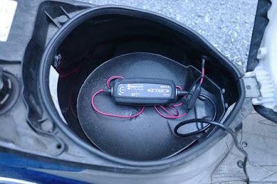 CTEK MUS4.3にてバッテリー充電中④