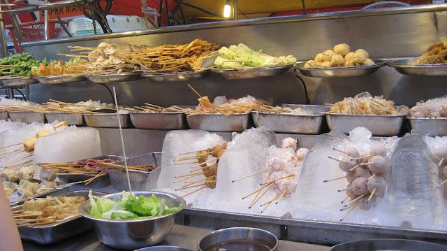 Comida callejera de Kuala Lumpur