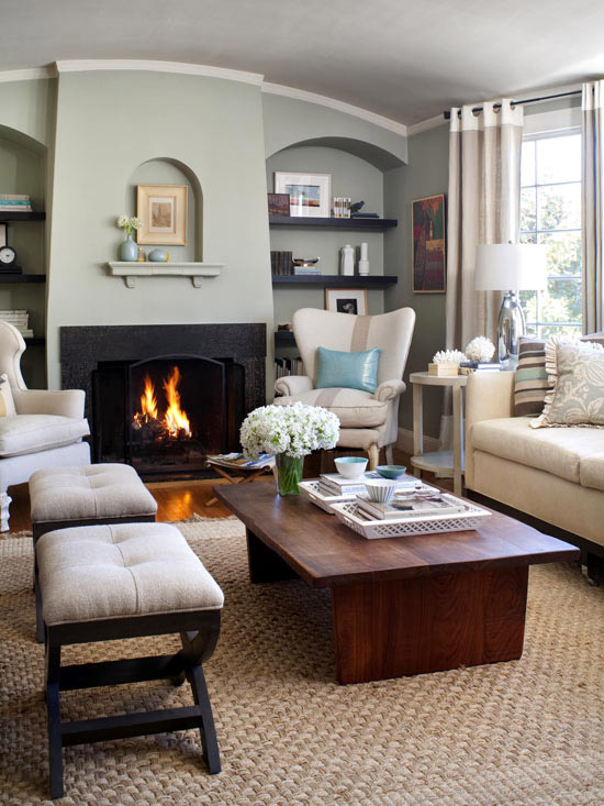 Latest Living Room: New Home Interior Design: Cozy Family Rooms & Living Rooms