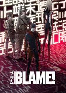 """La película """"BLAME!"""" (ブラム!), que se estrenará en 2017 de la mano de Netflix."""