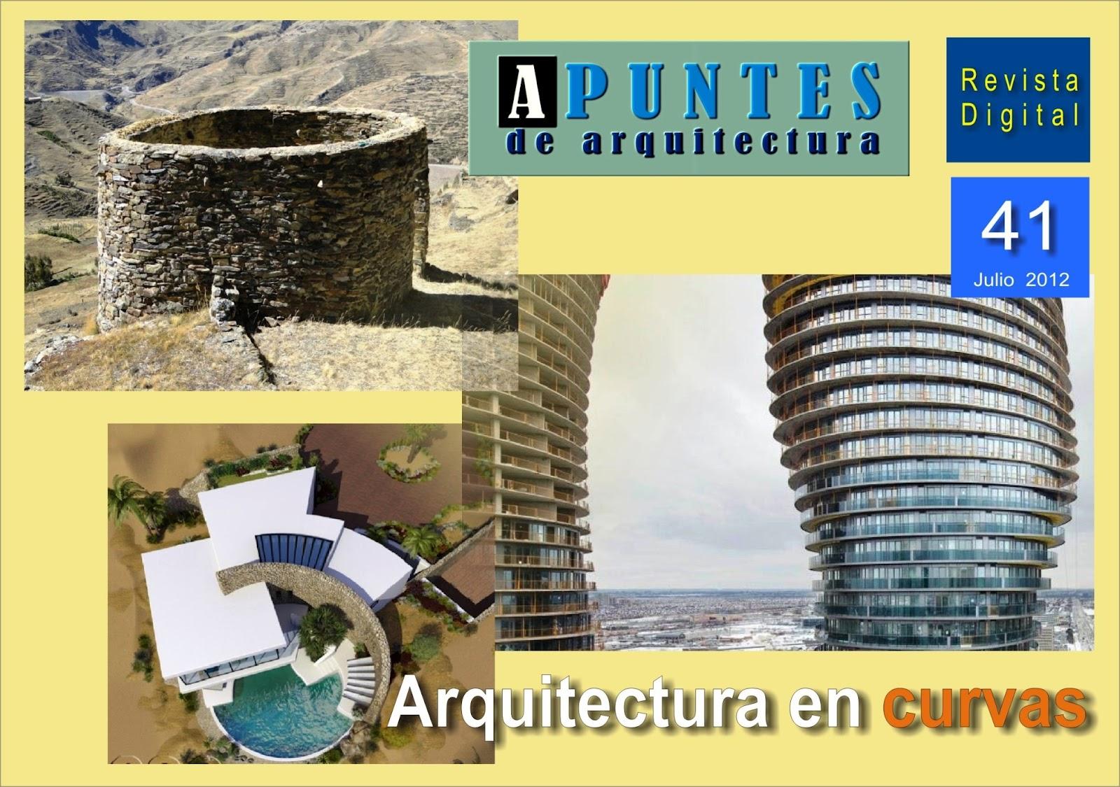 Apuntes Revista Digital De Arquitectura Julio 2012